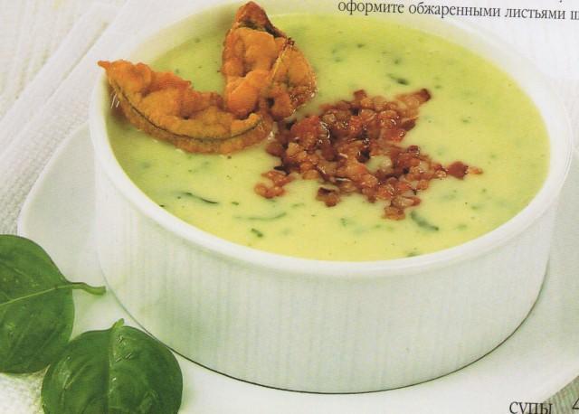 Суп картофельно-горчичный
