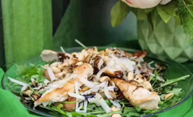 Салат из рукколы с арахисом 👌🏻