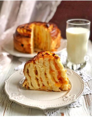 Яблочный пирог «Улитка»🥧