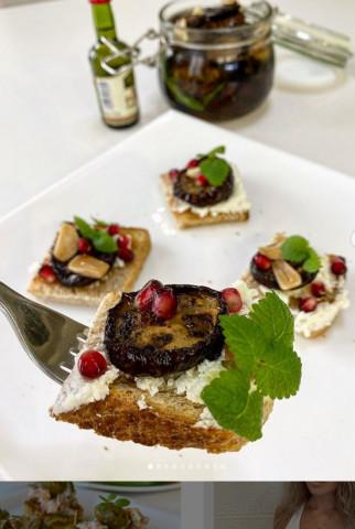 Закуска из вяленых баклажан в итальянском стиле