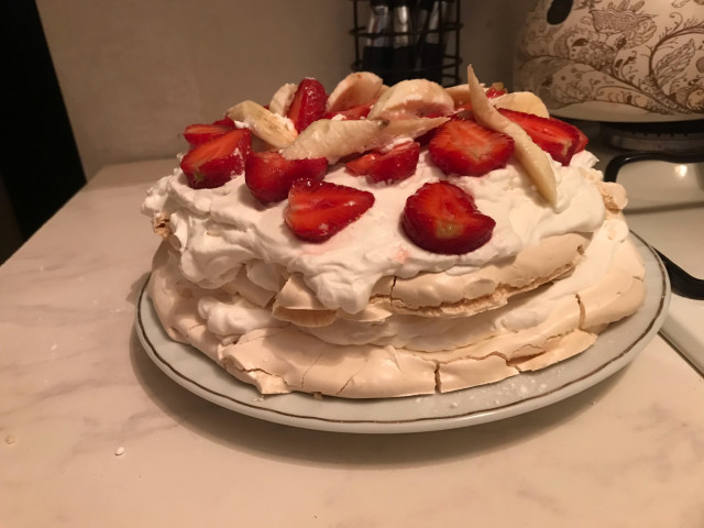 Меренговый торт