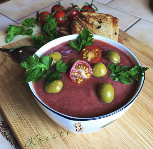 греческий томатный крем-суп🍅
