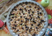 Насыпной яблочный пирог - классический вариант - фото приготовления рецепта шаг 4