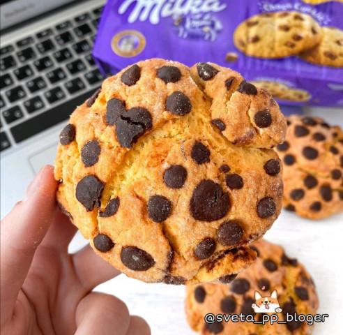 ПП-печенье  Milka