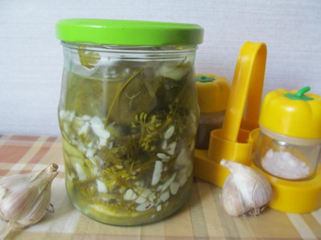 Соленые огурцы дольками, вкусный рецепт