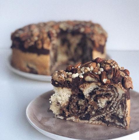 Ореховый пирог-бомба 🥧 💣 рецепт
