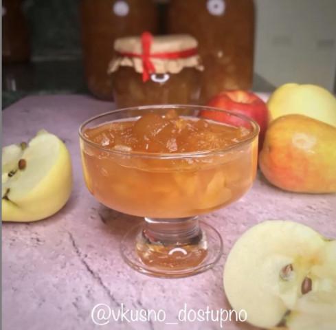 Янтарное яблочное варенье