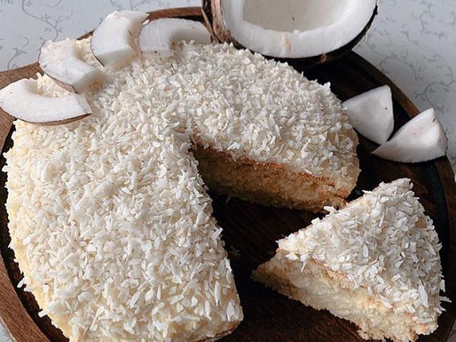 Торт Кокосовое наслаждение🥥