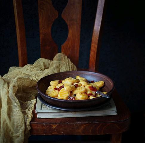 Ньокки из тыквы и картофеля