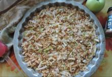 Насыпной яблочный пирог - классический вариант - фото приготовления рецепта шаг 3