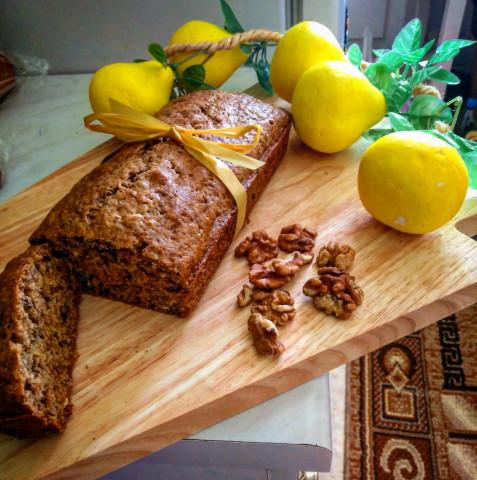 """Кекс """"Весеннее настроение"""" с семенами льна, подсолнечника, грецкими орехами и овсяными хлопьями"""