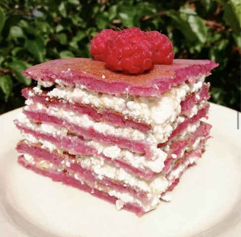 Малиновый тортик