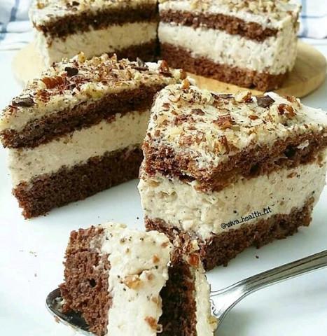 ПП-шоколадный тортик