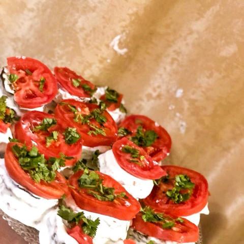 Баклажаны в сметанно-сырном соусе