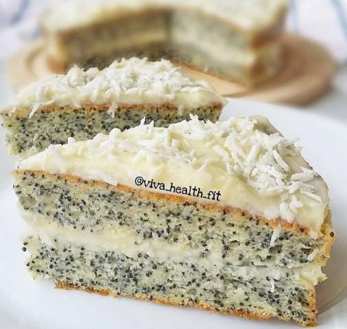 ПП-маковый тортик