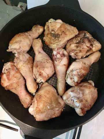 Сливочная курица