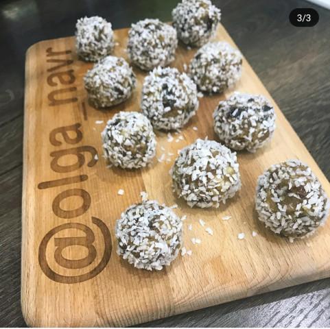 Натуральные кокосовые конфеты