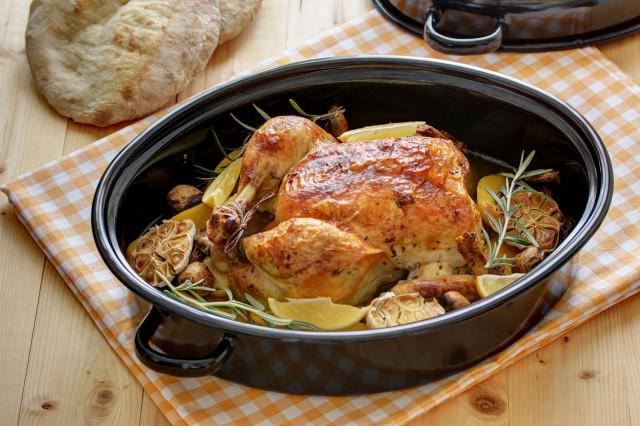 Курица с ароматным маслом