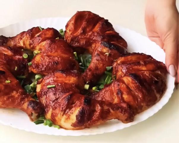 Острое куриное мясо в глазури 🔥