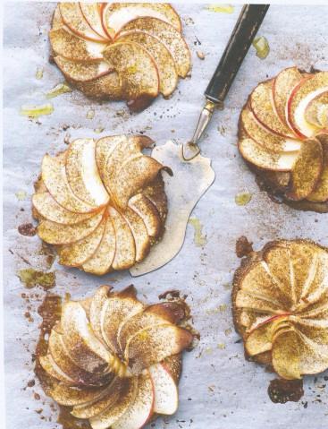 Яблочный мини-тарт