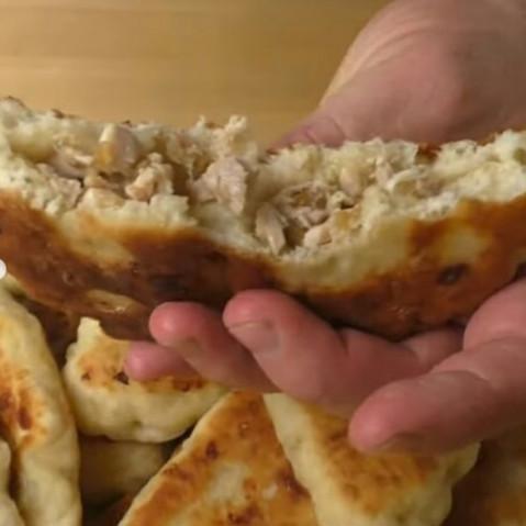 Сырные пирожки с мясом