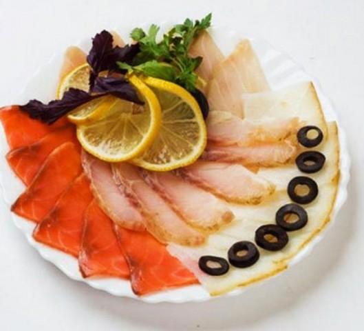 Бутерброд Ассорти рыбное