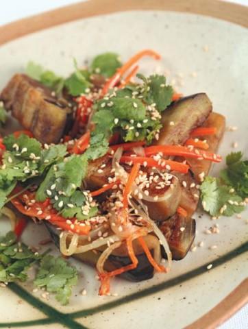 Салат из баклажанов по-тайски
