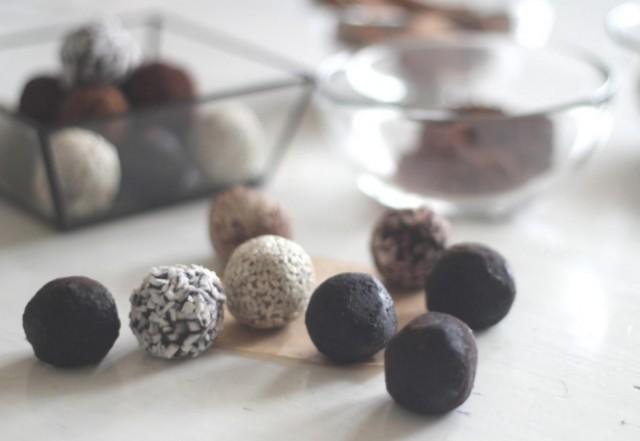 Шоколадные конфеты в обсыпке