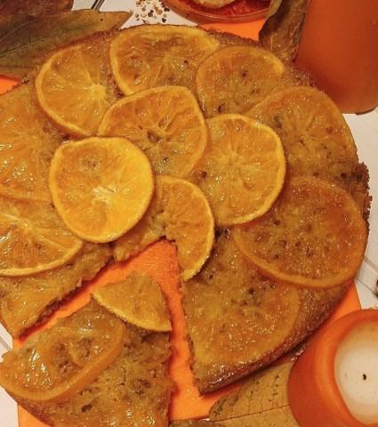 Наивкуснейший апельсиновый пирог