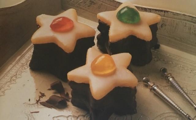 """Печенье """"Шоколадные звездочки"""""""