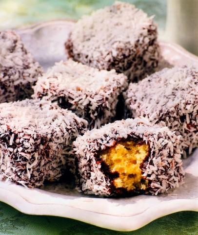 Бисквиты в кокосовой стружке