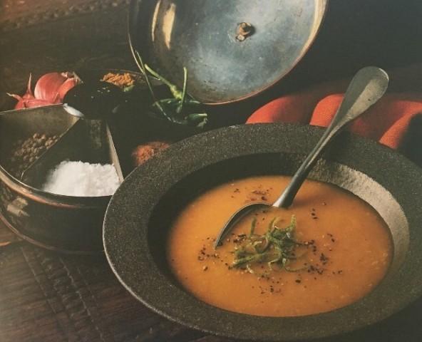 Острый морковный суп