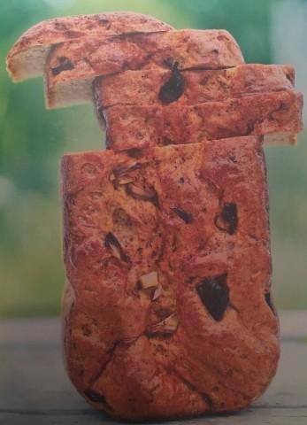 Пшенично-ржаной хлеб с паприкой и луком