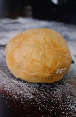 Тесто со сливочным сыром