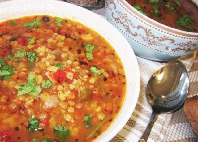 Суп из булгура
