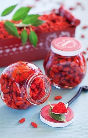 Желе из ягод годжи