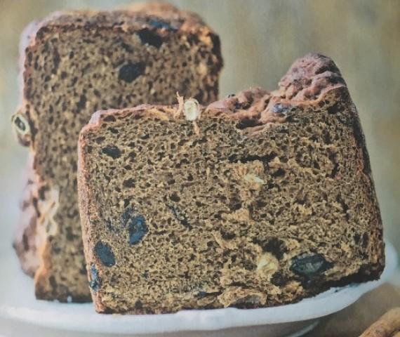 Пряный темный хлеб