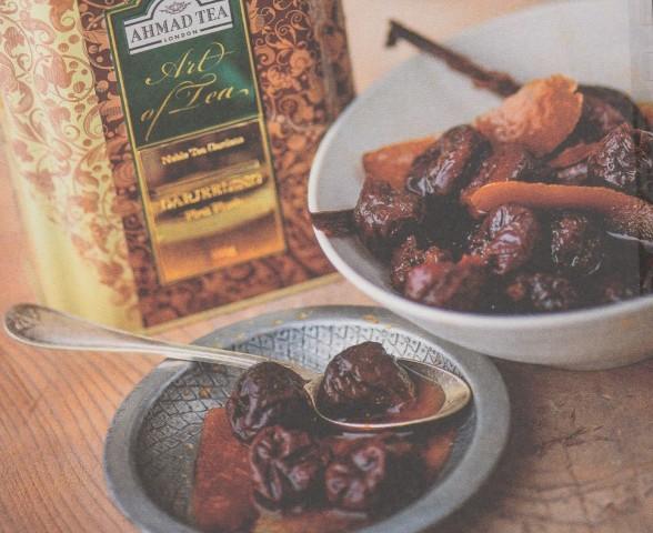 Чернослив, вымоченный в чае дарджилинг