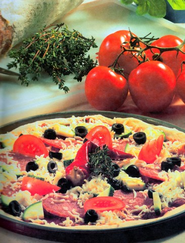 Основное тесто для пиццы