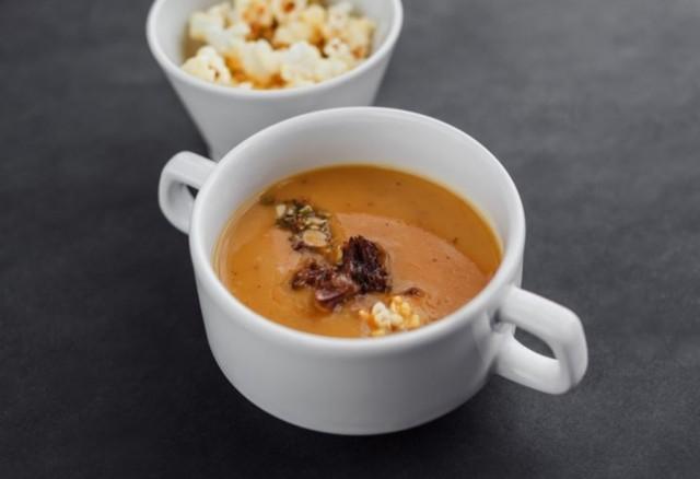 Суп из сладкой картошки