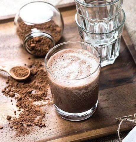 Молочный коктейль из бразильского ореха