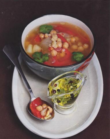 Суп из бобовых с овощами