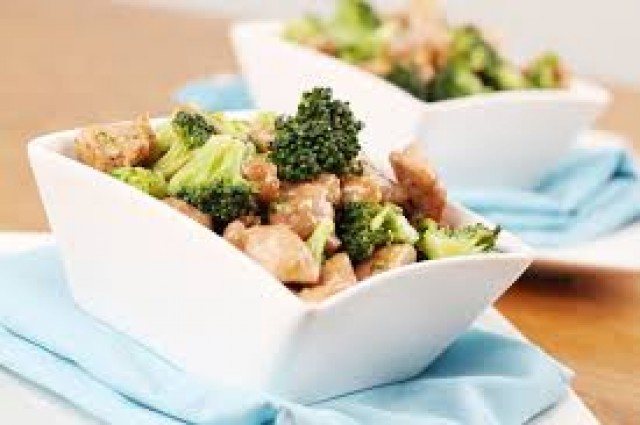 Жареная брокколи по-въетнамски