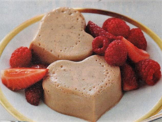 Панакотта с ягодами