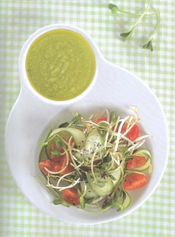 Салат из проростков