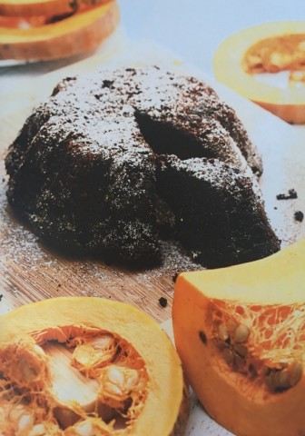 Тыквенный пудинг с шоколадными чипсами