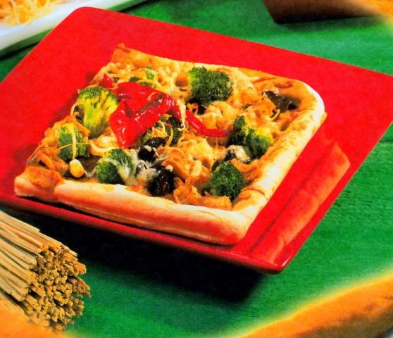 Пицца по-азиатски