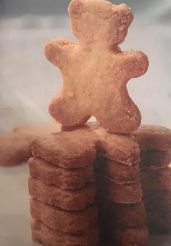 Песочное ванильное печенье