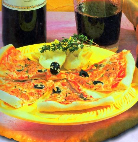 Традиционная итальянская пицца