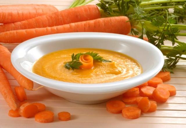 Пюре из моркови с грушей